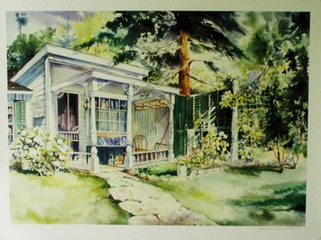 "Cottage Guesthouse 26"" X 33"" or 16"" X 20"""