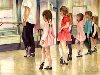 "The Little Dancers 20"" X 26"""